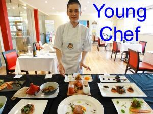 Sam Rides to 2nd place in Young Chef finals