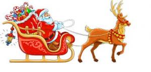 Santa Sleigh Routes and Dates