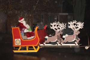 Santa's Sleigh Collections in Westgate and Birchington