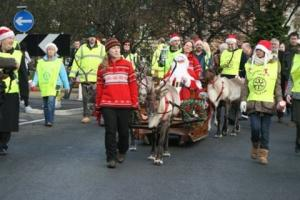 Santa Comes to Town - helped by Rotary Club of Middleton