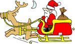 Santa Sleigh collection - St Thomas Church - Sun 18th