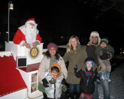 Christmas Santa Collections in Ickenham and North Hillingdon