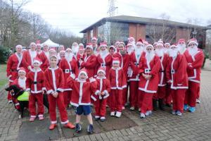 Whiteley - Santa Fun Run