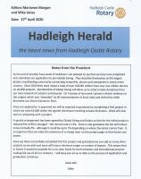 Hadleigh Herald our weekly newsletter
