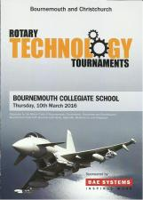 Rotary Technology Tournament - 10th March 2016