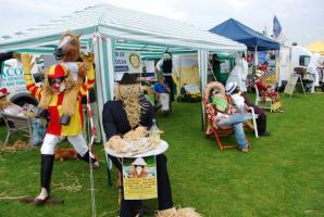 Scarecrows at the Wilmslow Show