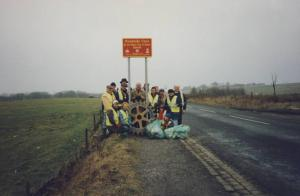 1996 Scout Road clean up - January 1996