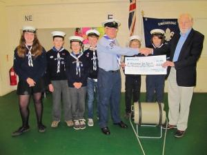 December 2015 Community Grant - 6th Kingsbridge Sea Scouts