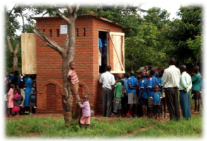 Ecco Toilet Project in Malawi