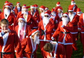 2017 Great Santa Fun Run