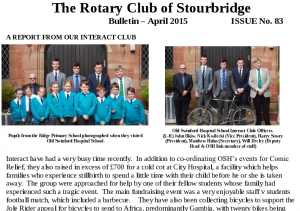 Club Bulletin April 2015