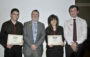 Report & Photos of Preston Lodge RYLA & Young Enterprise candidates visit to Club