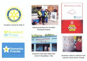 Welcome to the Rotary Club of Cheadle & District