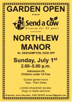 Open Garden at Northlew Manor
