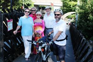 Marathon Bike challenge for Mick Baines