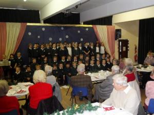 Thame Rotary's and Inner Wheel's Senior Citizens Christmas Tea