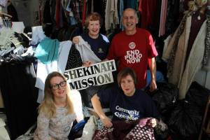 CLUB MEMBERS TURN OUT THEIR CUPBOARDS TO HELP CHARITY