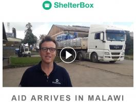 ShelterBox Aid Arrives in Malawi