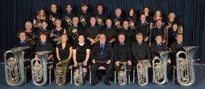 Shirland Welfare Brass Band for the 2018 Listen with the Band concert