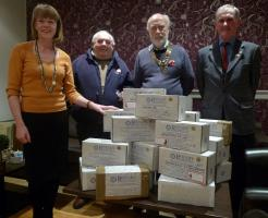 Rotary Shoeboxes filled