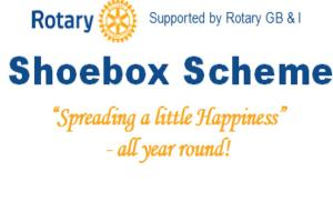 Rotary Shoebox Scheme - at Christmas time - but ALL year around too!