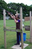 Clay pigeon shooting competition