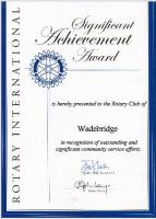 Significant Achievement Award