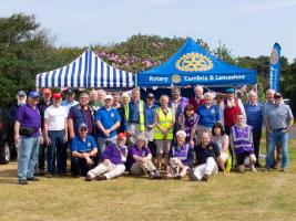 The Team at the Rotary Village North Cumbria