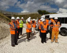 A visit to Singleton Birch Quarry