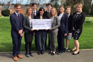 Oswestry School Pupils Led By Interact Raise Over £1,000 For PDSA Charity
