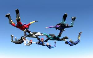Fund Raising by Skydiving