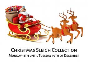 Christmas Sleigh Collection: 11th to 19th of December