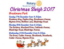 Brookmans Park Sleigh Routes