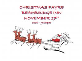 Christmas Fayre at the Beam Bridge Inn