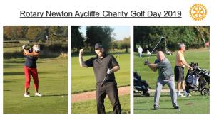Newton Aycliffe Rotary Club Charity Golf Day