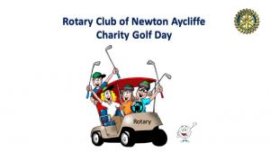 Rotary Club of Newton Aycliffe  Charity Golf Day