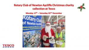 Christmas collection at Tesco