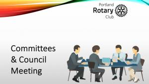 Council Meeting, beginning at 7.15 pm