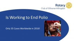 Bill & Melinda Gates Commitment to helping Rotary beat Polio