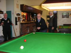 Snooker Training Camp 2015