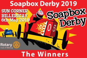 2019 Soapbox Derby Results
