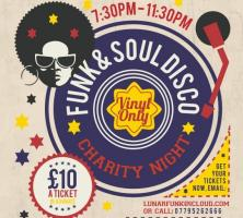 Funk & Soul Charity Night Disco - Vinyl Only
