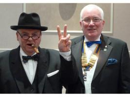 The Rotary Club of Southport Links Charter Night