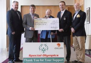 45.000 Euro donation for Special Olympics Ireland