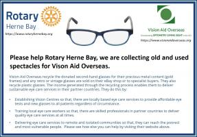 Vision Aid Overseas spectacles collection