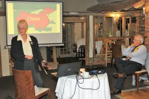 Jackie Allen - Great Wall of China presentation