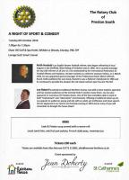 Sport & Comedy Flyer