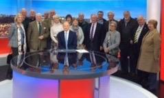 Visit to BBC's  Plymouth Studios