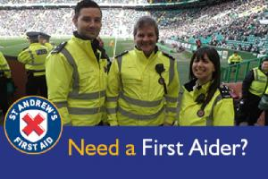 St Andrews First Aid - 08/06/15