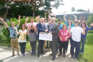 Bexhill Rotary gives an Olympic £1000 to St Mary's